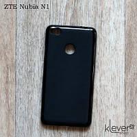 TPU чехол накладка для ZTE Nubia N1 (черный)