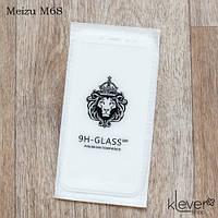 Защитное стекло 2,5D для Meizu M6S (white) (клеится всей поверхностью (5D))