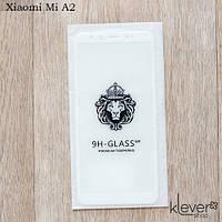Защитное стекло 2,5D для Xiaomi Mi A2 (white) (клеится всей поверхностью (5D))