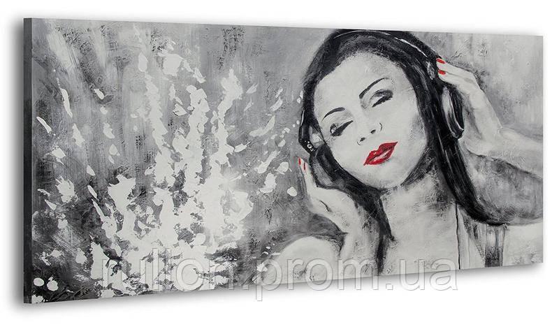 """Картина на холсте YS-Art RRH159 """"Женщина 4"""" 50x100"""