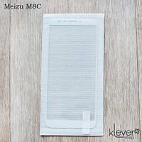 Защитное стекло 2,5D для Meizu M8C (white silk)