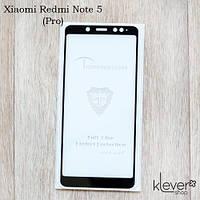 Защитное стекло Mietubl 2,5D Full Glue для Xiaomi Redmi Note 5 (black) (клеится всей поверхностью (5D))