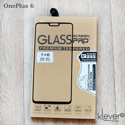 Защитное стекло Tianmeng Star 2,5D Full Cover для OnePlus 6 (black silk)