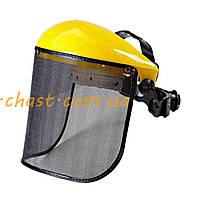 Защитная маска косаря   (сетка, металл)   EVO
