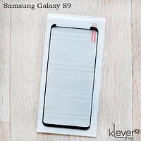 Защитное стекло Full Glue для Samsung Galaxy S9 (SM-G960) (полный клей, загнутые края (5D))
