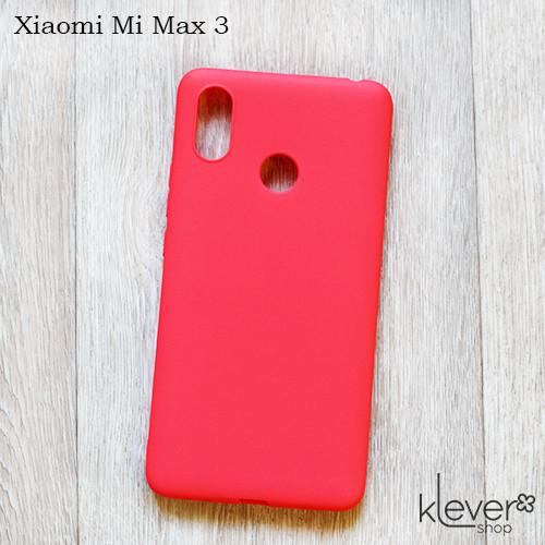 Чехол накладка Candy для Xiaomi Mi Max 3 (коралловый)