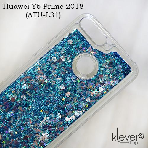 TPU чехол аквариум Aquarium stars для Huawei Y6 Prime 2018 (ATU-L31) (синий)