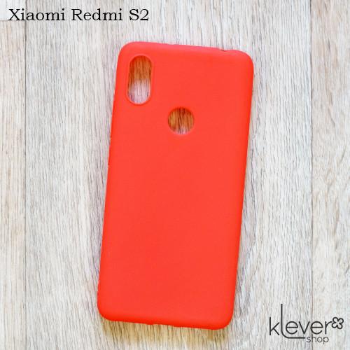 Ультратонкий силиконовый чехол Candy для Xiaomi Redmi S2 (коралловый)