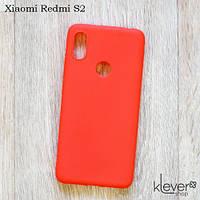 Ультратонкий силиконовый чехол Candy для Xiaomi Redmi S2 (коралловый), фото 1
