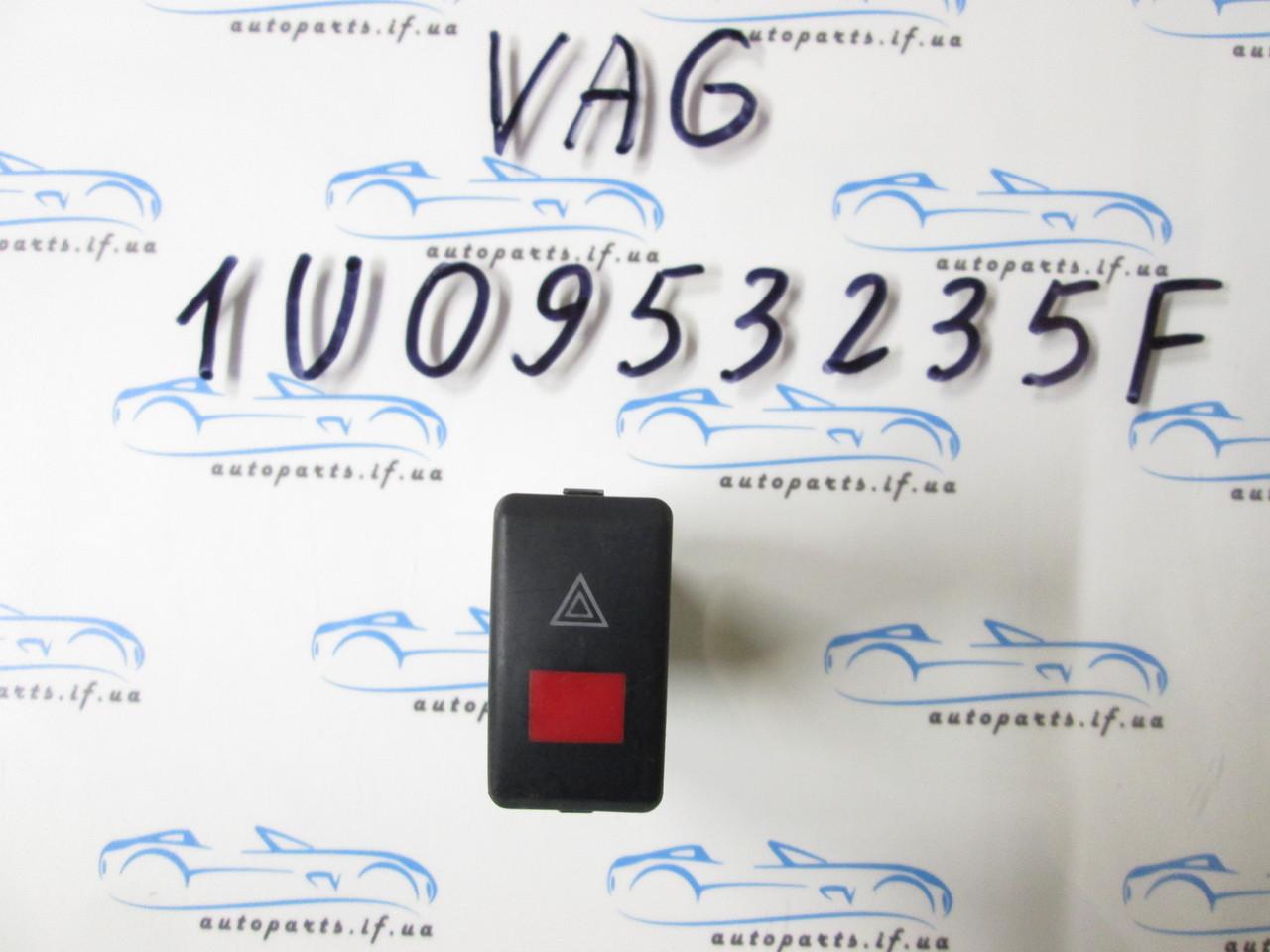 Кнопка аварийки Skoda Octavia Tour, 1U0953235F