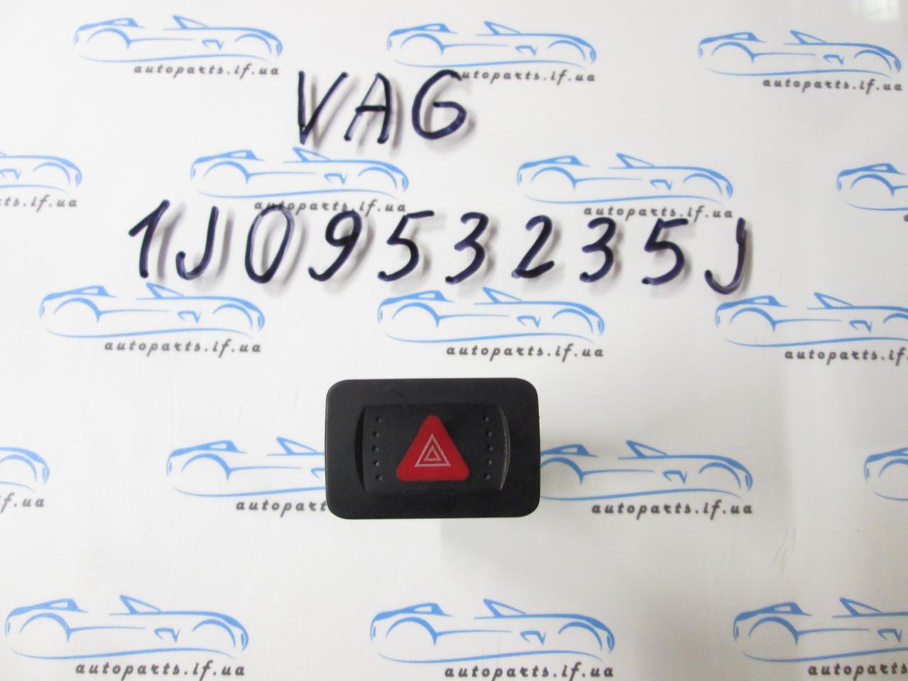 Кнопка аварийки VW Bora, 1J0953235J