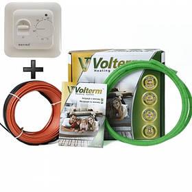 Теплый пол Volterm двухжильный кабель 8.5 м² 68 м 1200 Вт под плитку и стяжку HR181200, КОД: 146224