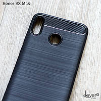 "TPU чехол накладка для Honor 8X Max (ARE-AL00) (black ""Carbon"")"