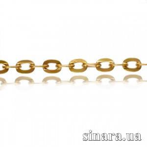 Золотая цепочка Якорь 1553