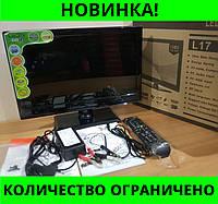 ЖК Телевизор LED TV L17 тюнер T2 входы HDMI и USB!Розница и Опт