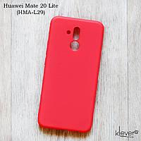 Ультратонкий силиконовый чехол Candy для Huawei Mate 20 Lite (SNE-LX1) (коралловый)