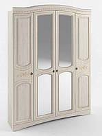 Белый шкаф в спальню Венера Люкс