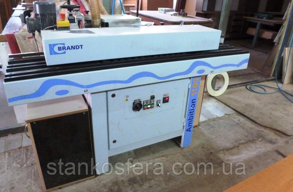 Кромкооблицовочный станок бу Brandt Ambition 1100 (KDN100) 2009г.