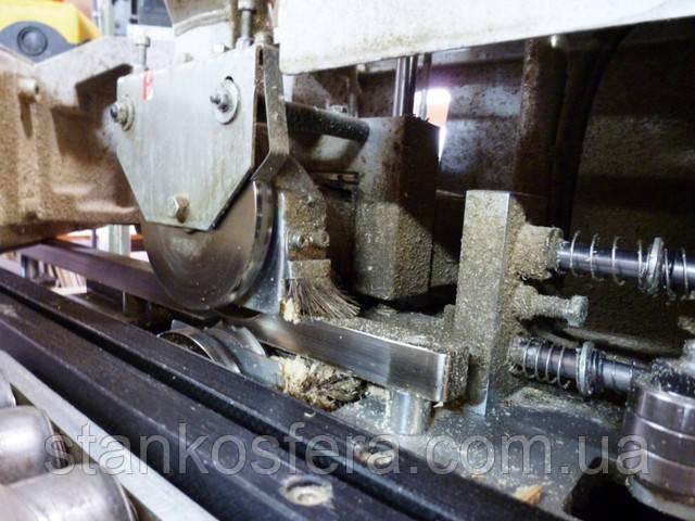 Фрезерование кромки ПВХ на станке Brandt Ambition 1100