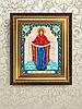 Схема для вышивки бисером икона Покров