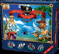 Настольно напольная игра Настольная игра «Сокровища старого пирата»