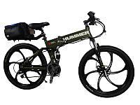 Электровелосипед Hummer electrobike foldable Зеленый 350, КОД: 213560