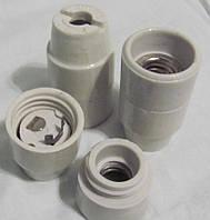 Патрон Е14   керамический подвесной