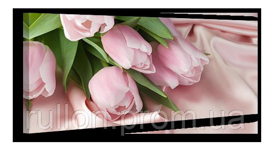 "Картина на холсте YS-Art XP037 ""Цветы 2"" 50x100"