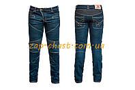 Мотоштаны   (текстиль) (темно-синие size XL)