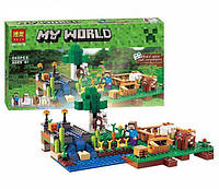 Конструктор Bela Minecraft Ферма 262 детали (10_10175 (79044))