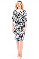 Модное женское батальное платье от производителя