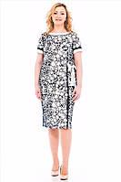 Женское платье с коротким рукавом оптом