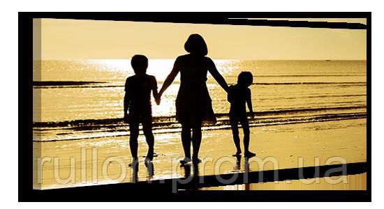 "Картина на холсте YS-Art XP040 ""Люди на пляже"" 50x100"