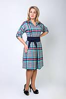Женское платье с турецкой шлифованной стрейч шерсти