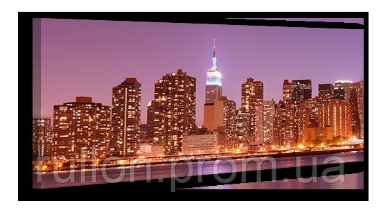 "Картина на холсте YS-Art XP049 ""Город"" 50x100"
