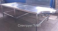 Формовочный стол 3300х1400 из нержавеющей стали, фото 1