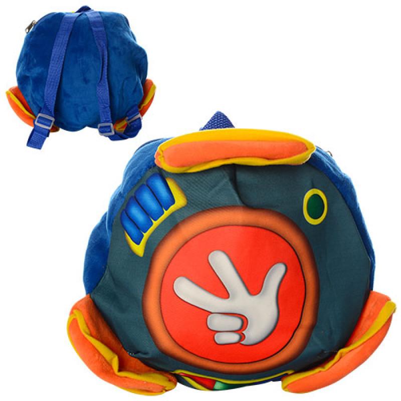 Рюкзак детский мягкий Фиксики Помогатор (рюкзак для садика и прогулок) 1255