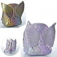"""Рюкзак детский для девочки с переливом """"ангелочек"""" (3 цвета), MK 2313"""