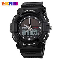 Часы с солнечной батареей SKMEI 1050, фото 1