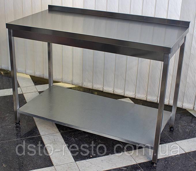 Стол производственный с полкой 700/500/850 мм