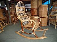 """Кресло-качалка из лозы """"Разборная 3"""""""
