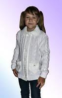Кофта теплая вязаная детская м 9599, разные цвета