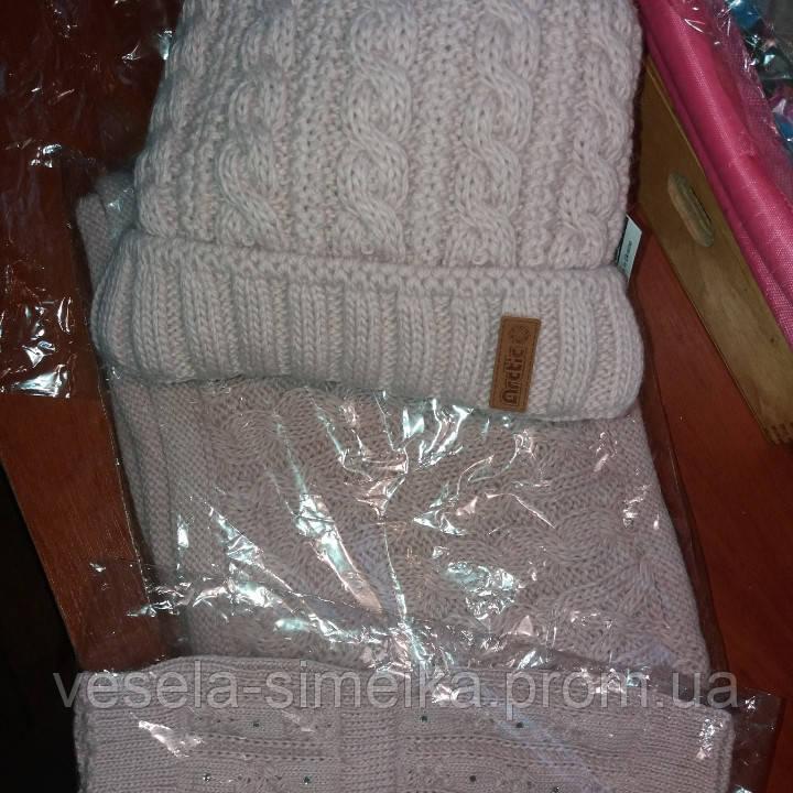 Зимова шапка для дівчат і жінок з вушками. Зимняя шапка для девочек и  женщин на ... f3278026dfe27