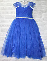 d07365ddb8e Платье бальное нарядное фатиновое на девочку 7-9 лет (9 цв) Серии
