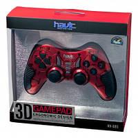 Игровой манипулятор (джойстик) HAVIT HV-G85 USB red