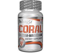 Мінеральна добавка BioTech Coral Calcium + Magnesium 100 tabs