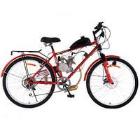 Горный велосипед с мотором - мотовелосипед