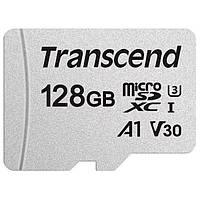 Карта памяти microSDXC Card 128Gb Transcend  Class 10