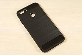 TPU чехол накладка для Huawei Honor 9 Lite (Черный)