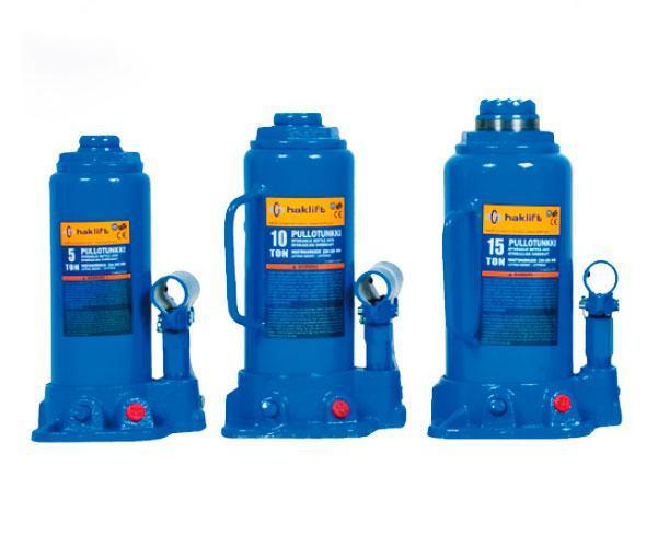 Домкраты Haklift бутылочного типа